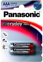 Аккумуляторная батарейка Panasonic Everyday Power 2xAAA
