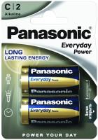 Аккумуляторная батарейка Panasonic Everyday Power 2xC