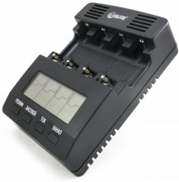 Зарядка аккумуляторных батареек Extra Digital BM210 + 4xAA 2500 mAh