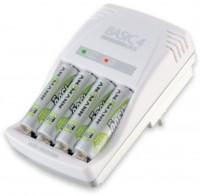 Зарядка аккумуляторных батареек Ansmann Basic 4 Plus