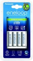 Фото - Зарядка аккумуляторных батареек Panasonic Advanced Charger + Eneloop 4xAA 1900 mAh