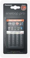Зарядка аккумуляторных батареек Panasonic Smart-Quick Charger + Eneloop Pro 4xAA 2500 mAh