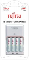 Зарядка аккумуляторных батареек Fujitsu Battery Charger + 4xAA 1900 mAh