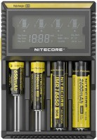 Фото - Зарядка аккумуляторных батареек Nitecore Digicharger D4
