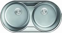 Кухонная мойка Cristal Roma Duo UA7113ZS