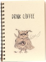 Блокнот Kraft  Notebook Drink Coffee