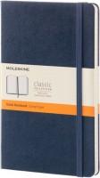 Блокнот Moleskine Ruled Notebook Large Sapphirine