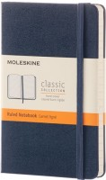 Блокнот Moleskine Ruled Notebook Pocket Sapphirine