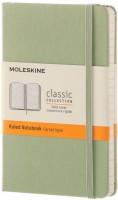 Блокнот Moleskine Ruled Notebook Pocket Mint