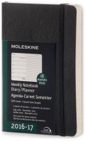 Ежедневник Moleskine 18 months Weekly Planner Pocket Soft Black