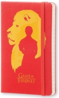 Блокнот Moleskine Game Of Thrones Ruled Notebook Pocket Red