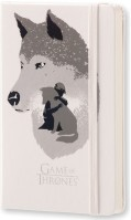 Блокнот Moleskine Game Of Thrones Plain Notebook Pocket White