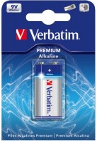 Аккумуляторная батарейка Verbatim Premium 1xKrona
