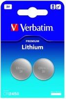 Аккумуляторная батарейка Verbatim Premium 2xCR2450