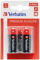 Аккумуляторная батарейка Verbatim Premium 2xC