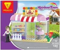 Фото - Конструктор Dreamlock Rainbow Town 6502