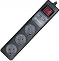 Сетевой фильтр / удлинитель REAL-EL RS-3 USB Charge 1.8m