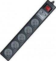 Сетевой фильтр / удлинитель REAL-EL RS-5 USB Charge 1.8m