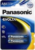 Аккумуляторная батарейка Panasonic Evolta 2xAAA