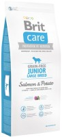 Фото - Корм для собак Brit Care Grain-Free Junior Large Salmon/Potato 1 kg