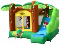 Батут Happy Hop Jungle Climb and Slide House