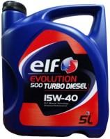 Моторное масло ELF Evolution 500 Turbo Diesel 15W-40 5L