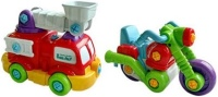 Конструктор Keenway Fire Truck and Motorcycle K11864