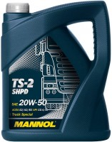 Моторное масло Mannol TS-2 SHPD 20W-50 5L