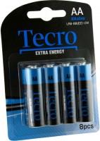 Аккумуляторная батарейка Tecro Extra Energy 8xAA