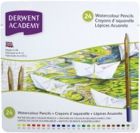 Фото - Карандаши Derwent Academy Watercolour Set of 24