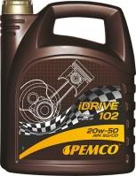 Моторное масло Pemco iDrive 102 20W-50 5L