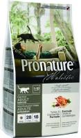 Фото - Корм для кошек Pronature Holistic Adult Turkey/Cranberries 2.72 kg