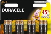 Аккумуляторная батарейка Duracell 8xAA MN1500