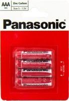 Аккумуляторная батарейка Panasonic Red Zink 4xAAA
