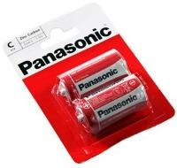 Аккумуляторная батарейка Panasonic Red Zink 2xC