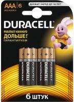 Аккумуляторная батарейка Duracell 6xAAA MN2400