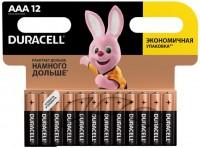 Фото - Аккумуляторная батарейка Duracell 12xAAA MN2400