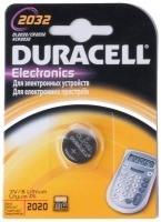 Фото - Аккумуляторная батарейка Duracell 1xCR2032 DSN