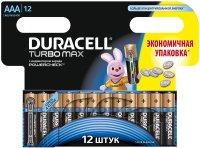 Аккумуляторная батарейка Duracell 12xAAA Turbo Max MN2400