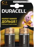 Фото - Аккумуляторная батарейка Duracell 2xC MN1400