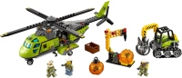 Фото - Конструктор Lego Volcano Supply Helicopter 60123