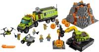 Фото - Конструктор Lego Volcano Exploration Base 60124