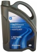 Моторное масло GM ENG (DEXOS2) 5W-30 6L