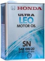 Моторное масло Honda Ultra LEO 0W-20 SN 4L