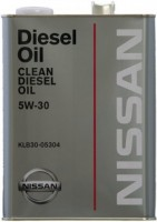 Моторное масло Nissan Clean Diesel Oil 5W-30 DL-1 4L