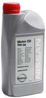 Моторное масло Nissan Motor Oil 0W-30 1L