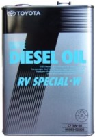 Моторное масло Toyota Diesel Oil RV Special W 5W-30 4L