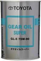 Трансмиссионное масло Toyota Gear Oil Super 75W-90 GL-5 1L