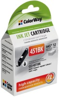 Картридж ColorWay CW-CLI-451BK