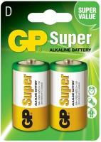 Аккумуляторная батарейка GP Super Alkaline 2xD